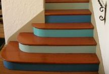 Colorful Stairways, Hallways & Interior Spaces  / Colorful interiors! Color can be used anywhere to brighten and liven up a space! / by PPG Voice of Color