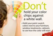 Choosing Paint Color, Painting Tips & Advice / Learn tips for choosing paint color and find painting tips & advice / by PPG Voice of Color