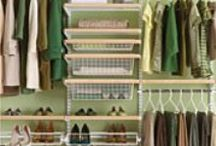 Colorful Closets / Don't be afraid to add some more color to your closet, on the walls & shelving!  / by PPG Voice of Color