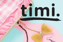 TIMI / TIMI was founded by fashion enthusiasts who are fascinated with bursts of colors, innovative graphics and progressive fashion. TIMI was created for those who love expressing themselves by constructing their own original style and defining their own trends. The goal is to initiate creativity by providing key items from a wide range of fashion accessories such as jewelry, watches, bags and other small accessories and to let the individual's imagination fly. There are no limits to creativity. The r / by LAStyleRush .com