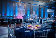 WEDDING THEMES AND IDEAS / Table settings, lighting, flowers, dresses, venues, tips, ideas / by Brenda Pouncey