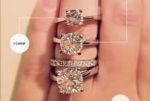 ENGAGEMENT RINGS / Pretty, Exquisite bling bling / by Brenda Pouncey