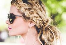 HAIR / Braids, top knots, loose ponys, waves, and more.   / by MATRIX
