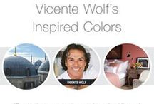 Vicente Wolf Color & Design Advisor for PPG Voice of Color / PPG Voice of Color is honored to feature Vicente Wolf as our Color & Design Advisor   / by PPG Voice of Color
