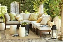 my patio inspirations / Dream outdoor spaces and furniture ideas. / by INSPIRE BY ALIX