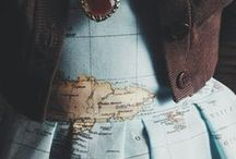 """In love with """"maps"""" / by Marlene Christophers"""