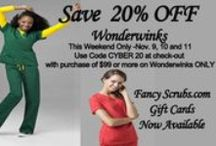 Now on SALE / Scrubs and #uniforms now on #sale / by Fancy Scrubs