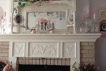 Fireplace mantles / by Deni Fender