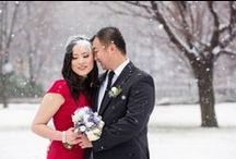 Winter Wedding Photos / Winter Wedding photos by Ottawa Wedding Photographer Troy St. Louis