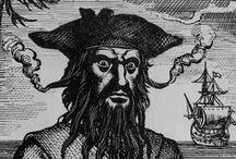 Blackbeard / Blackbeard the pirate was killed off the coast of Ocracoke Island, North Carolina on November 22, 1718.  Visit www.OBXentertainment.com/Blackbeard to learn more!