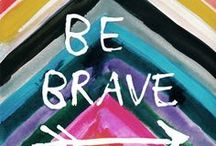 One Little Word 2014 - BRAVE