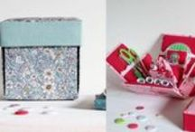 Etui Boxes and Sewing Gifts / Handmade Etui Boxes and Sewing Gifts from Just A Little Thought. Personalised, Handmade Sewing Boxes and Pin Cushions.