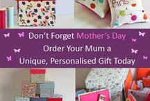 Mother's Day Gift Ideas / Gift ideas for mum for Mother's Day. Gorgeous, Unique, Handmade and Personalised Gifts for mum.