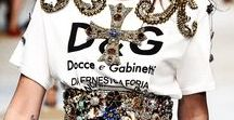 M'O + Dolce & Gabbana / Satisfy your inner tourist with a runway collection that whisks us all away to Italy.
