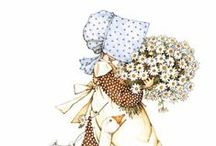 Holly Hobbie / She reminds me of my mother, and my childhood ❤️