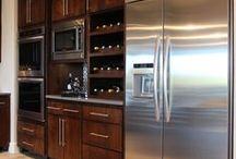 Kitchen Wine Racks / built in kitchen wine rack