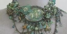 Upcycled Vintage Jewelry / Recycling vintage jewelry pieces into something new and beautiful.
