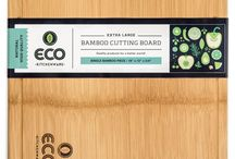 "Our Superior Extra Large Cutting Board / Extra Large Single Piece Bamboo Wood Cutting and Chopping Board 18x13"" with Drip Groove"