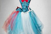 ALICE IN WONDERLAND WEDDING AND PROM / Our collection of Alice in Wonderland inspired weeding and prom dresses