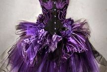 GOTHIC AND DARK WEDDING AND PROM DRESSES