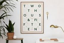 prints + posters / by One Plus One Design