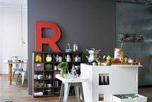 Letras Decorativas / Letras decorativas encajan en todos los estilos y en cualquier lugar, dan un toque vintage y de color a tu estancia.