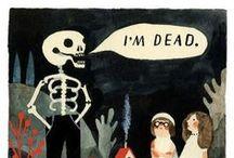 {haunted} / by Lauren Proux