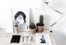 DESK ☓ WORKSPACE ☓ OFFICE / Workspace inspiration <3 / by YourDailyIntake.com