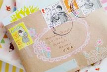 SNAIL MAIL / Snailmail & letter writing inspiration. / by YourDailyIntake.com