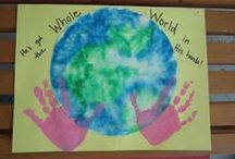 School- Reduce, Reuse and Recycle / A preschool unit theme centered around green living. / by Sandy Rogert Wlaschin
