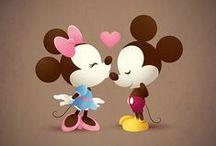 Disney Art / by Toccoa Sanders