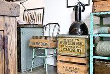 Estilo industrial / Estilo industrial para dar un toque diferente a tu hogar.