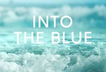 | INTO THE BLUE | / All things blue!