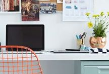 offices + workspaces. / because i love organized spaces.