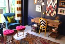 The Creative's Abode / Make colourful quirky statements in and around your home✨