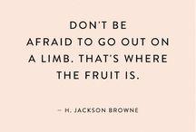 little bit of wisdom