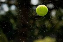 """Tennis ! / """"You always want to win. That is why you play tennis, because you love the sport and try to be the best you can at it."""" ~Roger Federer   / by Nancy M"""