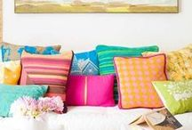 Cute Cushions / The cutest images of cushions and pillows to buffer away lifes little bumps.
