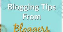 Blogging Tips from Bloggers / Bloggers sharing their best blogging tips. Share with the world your best pins on blogging, content creation, social media and blog marketing.  Please. no spam or affiliate posts. Limit 3 pins/day, and avoid  duplicate pins. Duplicates will be deleted, and repeat offenders may be removed.  Apologies - Not accepting new members at this time.