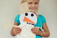winter for kids. / crafts, lessons, and recipes for winter.