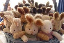 knitting  toys / by Delwyn Gugich