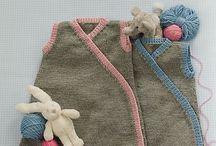 knit/sew: sleep sacs, blankets