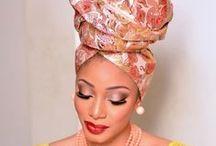 Elegantly Head Wrapped❤️ / Showcasing beautiful head wraps.