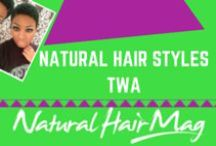 Natural Hair Styles TWA / Teeny Weeny Afros hair styles are the feature of this board. Check out these wonderful styles that will inspire you and your hair.