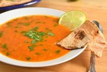 Comforting Soups and Stews / Warm and comforting soups and stews