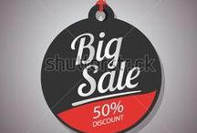 Big sale vector template stock / http://www.shutterstock.com/gallery-3810161p1.html