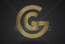 initial logo circle shape / please visit http://www.shutterstock.com/cat.mhtml?gallery_id=3810161