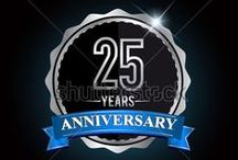 GOLD AND SILVER COLORED - ANNIVERSARY LOGO / Welcome everyone, please visit http://www.shutterstock.com/cat.mhtml?gallery_id=3810161