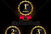 Winner label / http://www.shutterstock.com/g/Yuhriat+Cahyo+Baskoro/sets/14594573-awards-label-sign-and-symbol?page=3