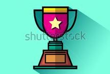 TROPHY ICON / http://www.shutterstock.com/g/Yuhriat+Cahyo+Baskoro/sets/47333055-trophy-icon